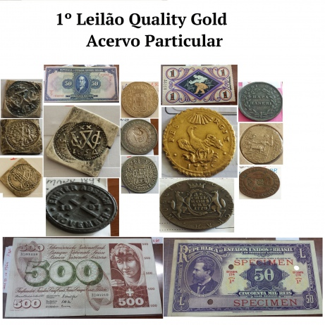 1º LEILÃO QUALITY GOLD - COLECIONISMO