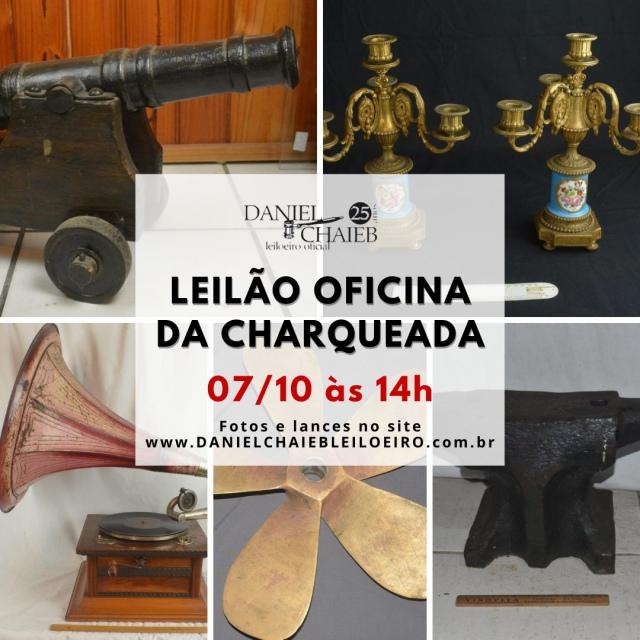 LEILÃO OFICINA DA CHARQUEADA