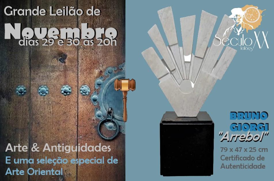 LEILÃO DE OUTUBRO  ( QUADROS, ARTE ORIENTAL, TAPETES, MÓVEIS, PRATAS E ANTIGUIDADES EM GERAL )