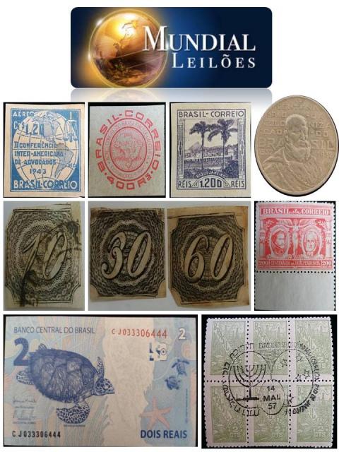77º Leilão da Mundial Filatélica e Numismática