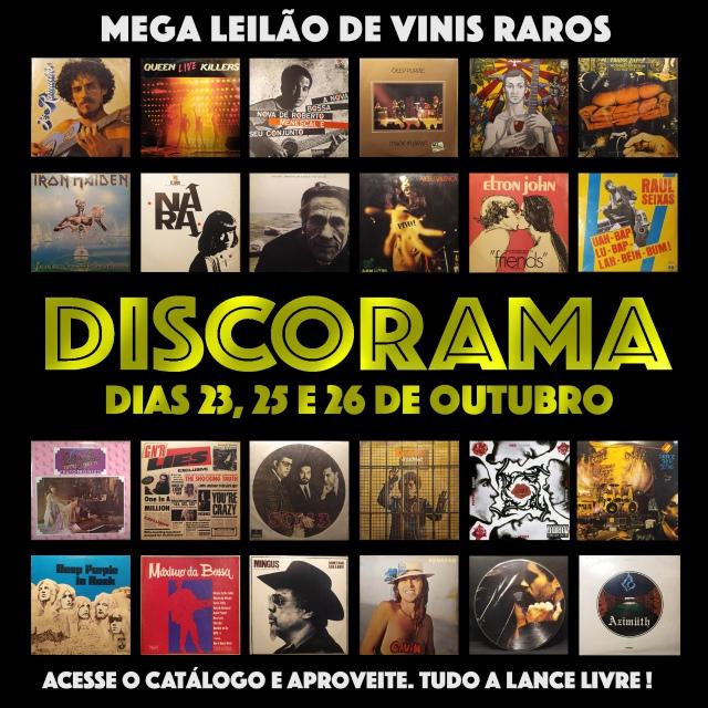 34º LEILÃO COLLECTORAMA DE DISCOS RAROS EM VINIL