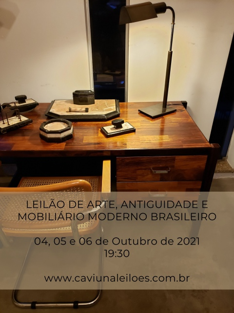 LEILÃO DE ARTE, ANTIGUIDADES E MOBILIÁRIO