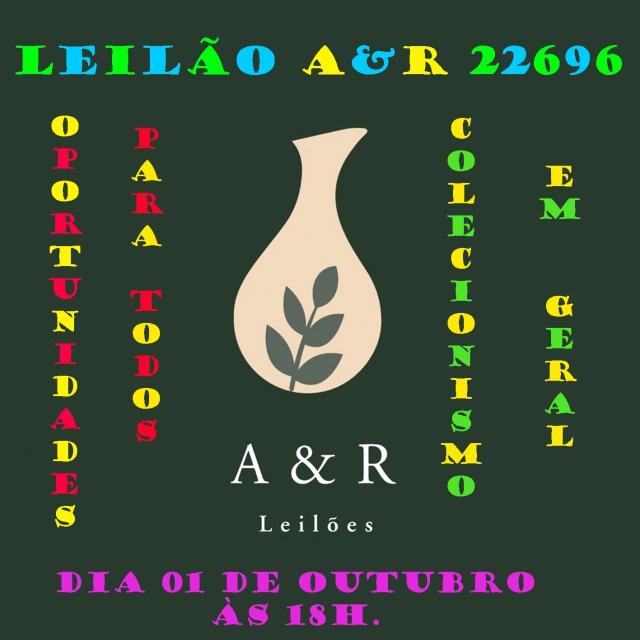 LEILÃO DE COLECIONISMO EM GERAL - OPORTUNIDADE PARA TODOS