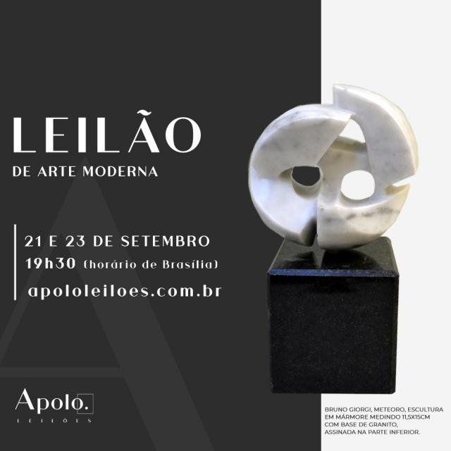 LEILÃO DE ARTE MODERNA