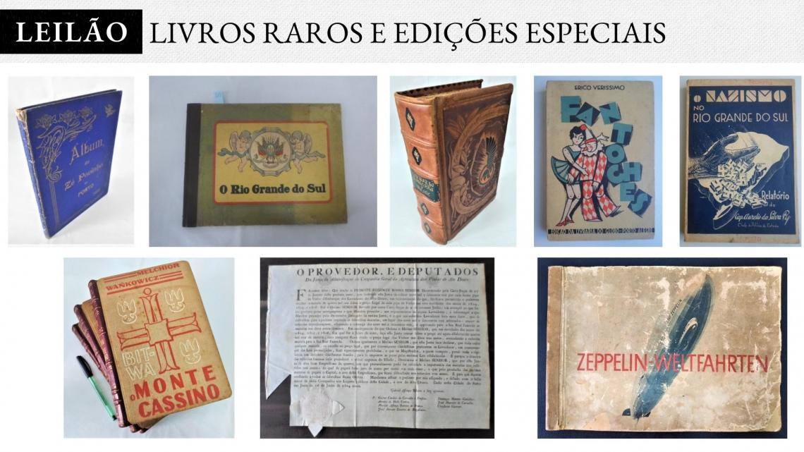 2º Leilão AVENIDA LIVROS - Livros Raros e Edições Especiais