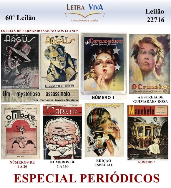 60º LEILÃO LETRA VIVA - ESPECIAL PERIÓDICOS