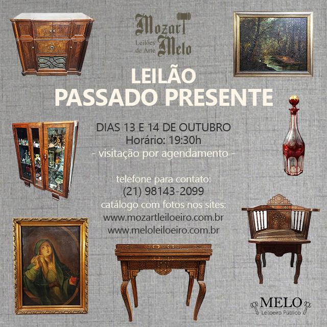 LEILÃO PASSADO PRESENTE
