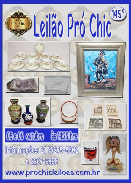 145 º Leilão Pro chic