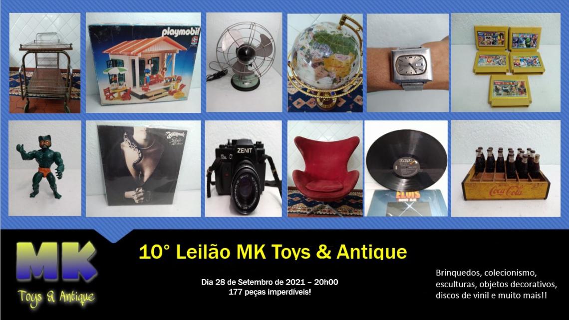 10º Leilão MK Toys & Antique