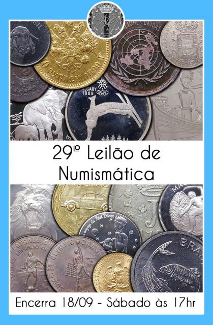 29º LEILÃO DE NUMISMÁTICA - NUMISMATIG LEILÕES
