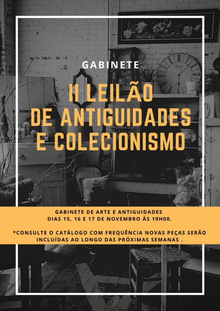 II LEILÃO DE ANTIGUIDADES E COLECIONISMO