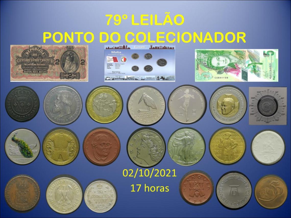 79º LEILÃO PONTO DO COLECIONADOR