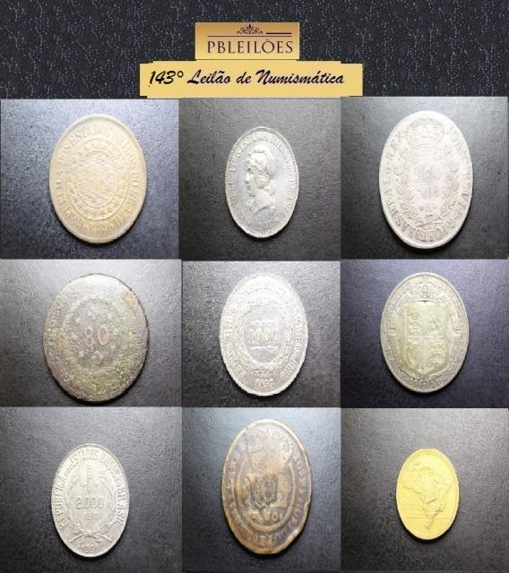 143º Leilão de Numismática