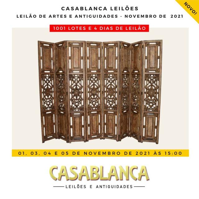 LEILÃO CASABLANCA - NOVEMBRO DE 2021