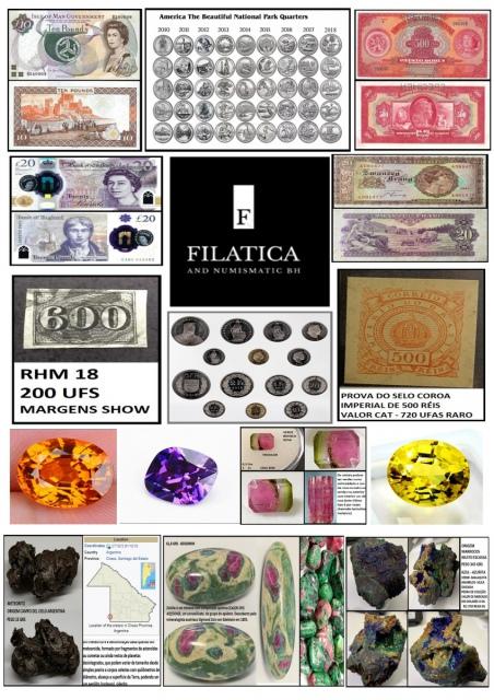 131º LEILÃO FILATICA AND NUMISMATIC BH