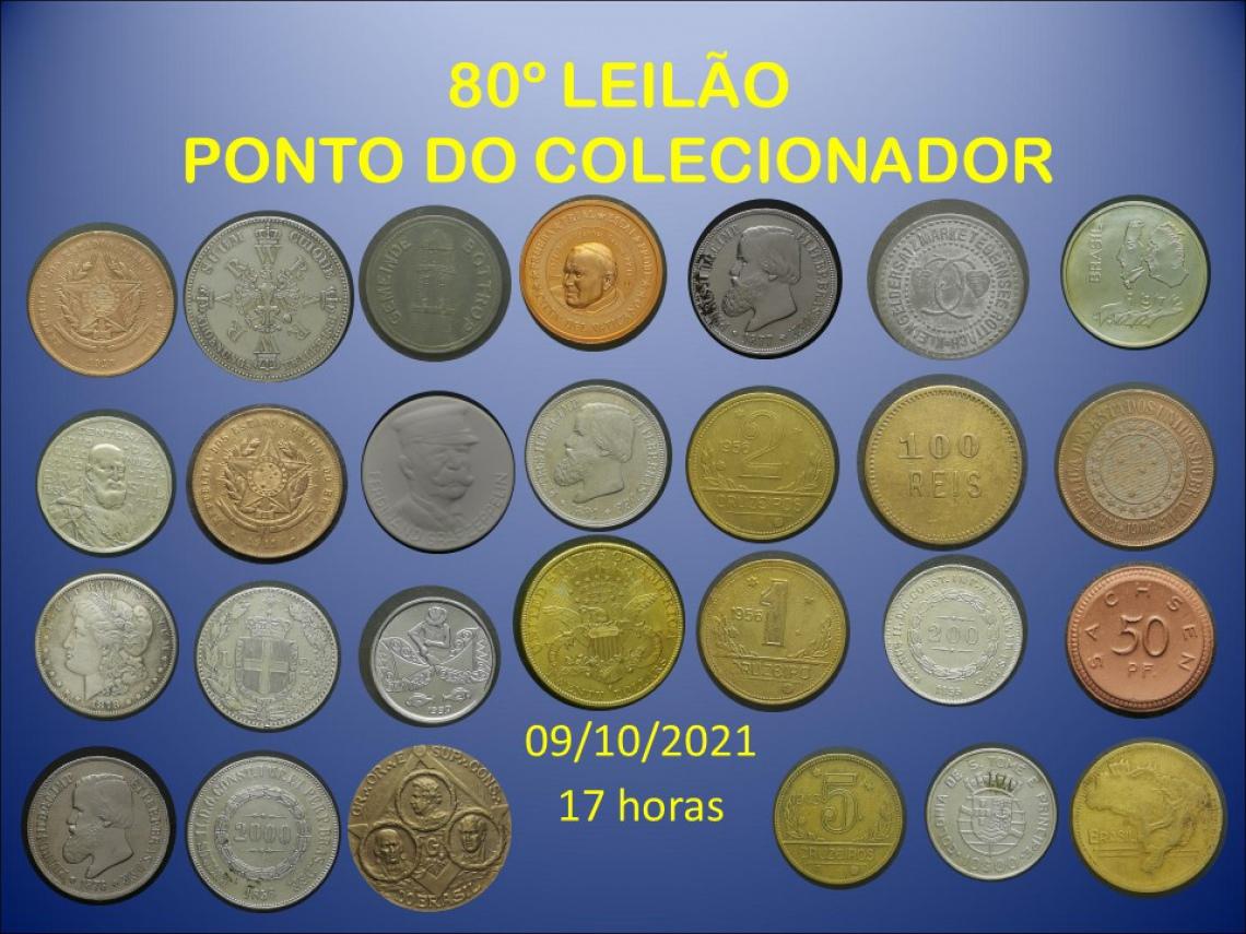 80º LEILÃO PONTO DO COLECIONADOR