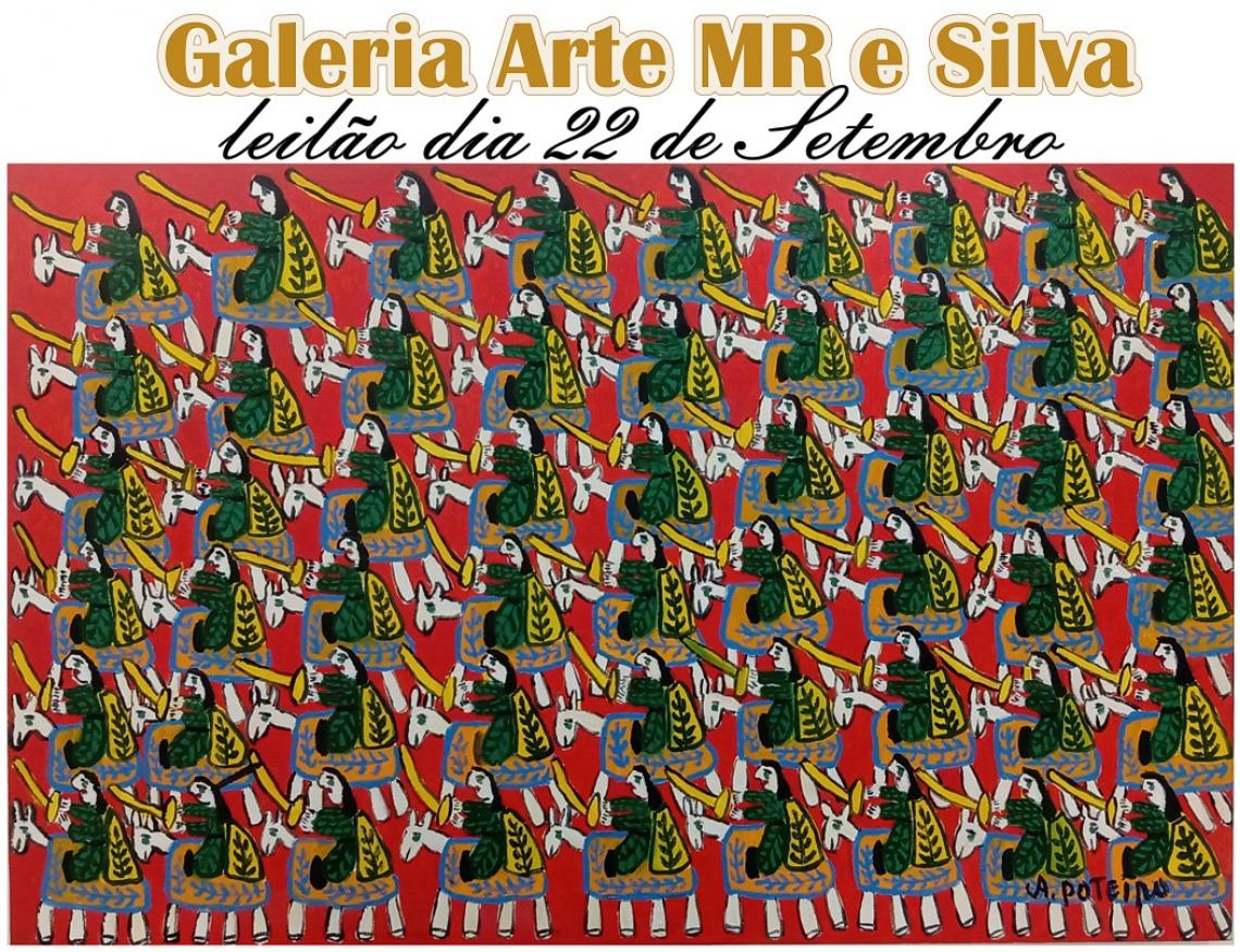 LEILÃO 22854 -GALERIA ARTE MR E SILVA