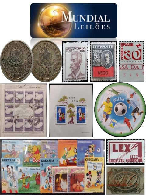 79º Leilão da Mundial Filatélica e Numismática