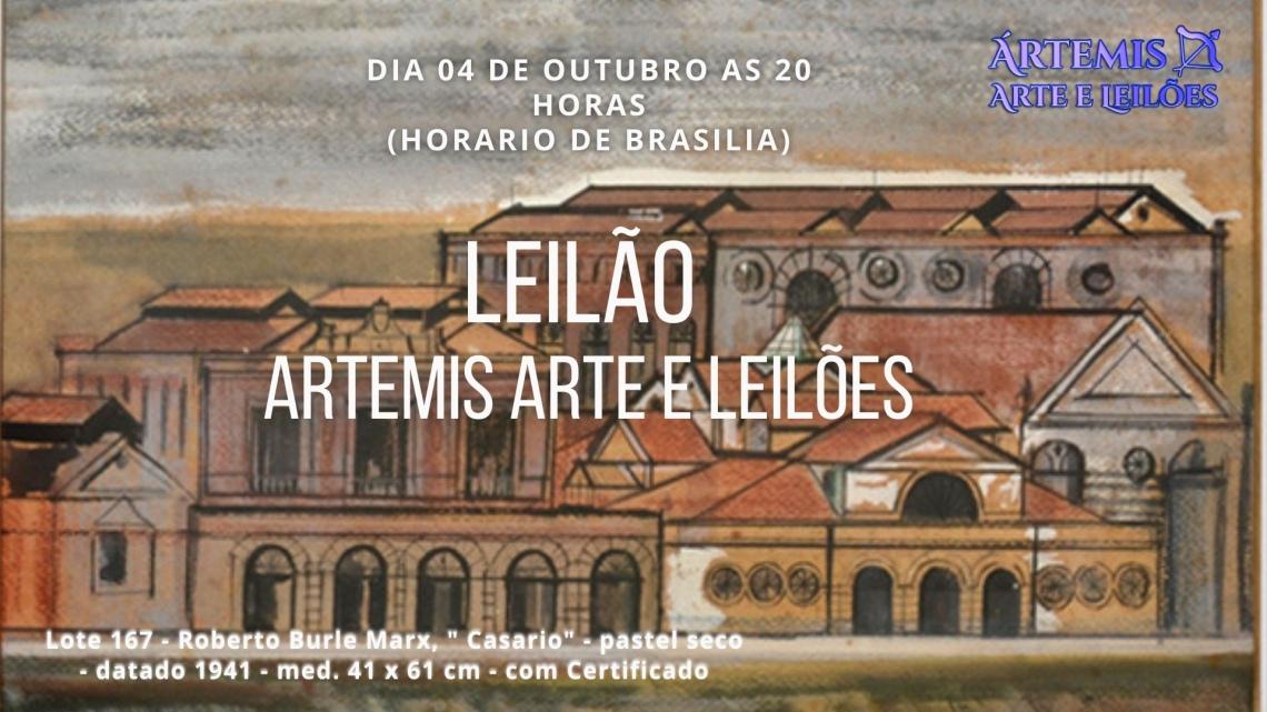 LEILÃO ÁRTEMIS ARTE E LEILÕES