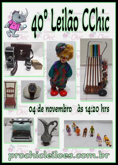 40º LEILÃO CCHIC