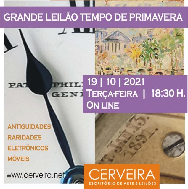 GRANDE LEILÃO TEMPO DE  PRIMAVERA  | ANTIGUIDADES | RARIDADES | ELETRÔNICOS | MÓVEIS