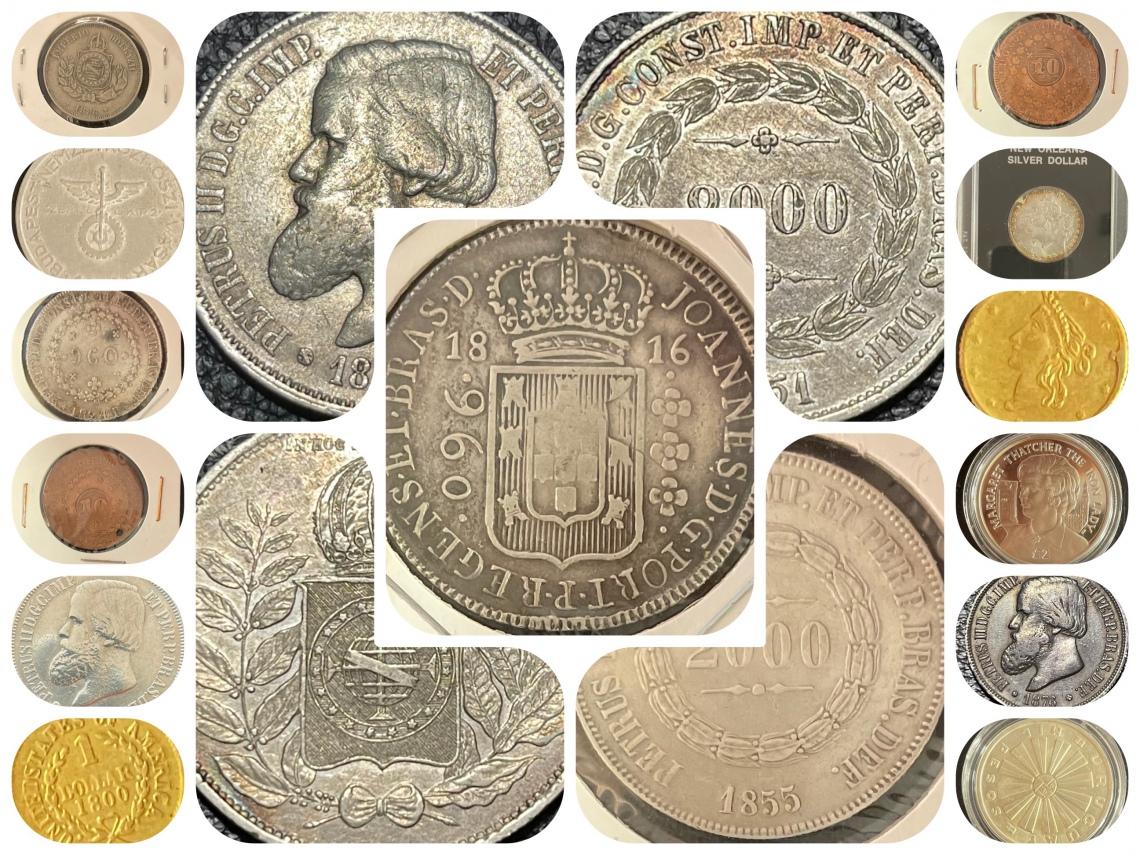 37º LEILÃO - Numismart - Moedas Raras, Anomalias, Cédulas Nacionais e Internacionais Medalhas Tokens