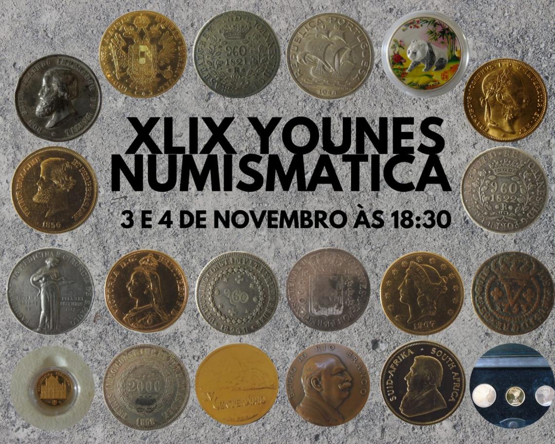 XLIX LEILÃO YOUNES NUMISMÁTICA