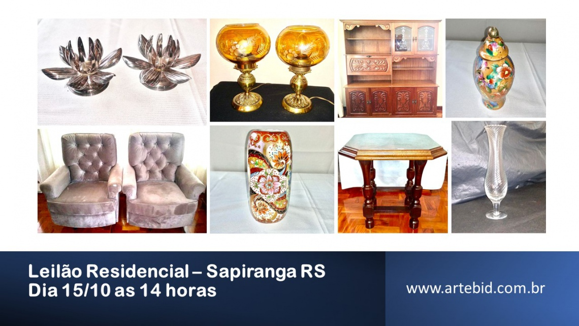 LEILÃO RESIDENCIAL - SAPIRANGA/RS
