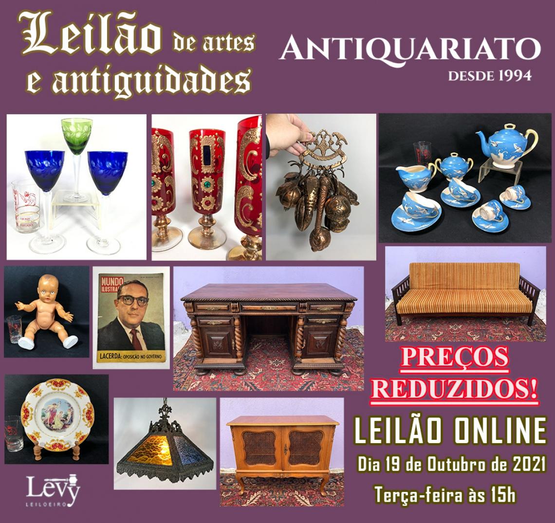 LEILÃO DE PREÇOS REDUZIDOS ANTIQUARIATO DE ANTIGUIDADES, CURIOSIDADES E COLECIONISMO - OUTUBRO.2 21