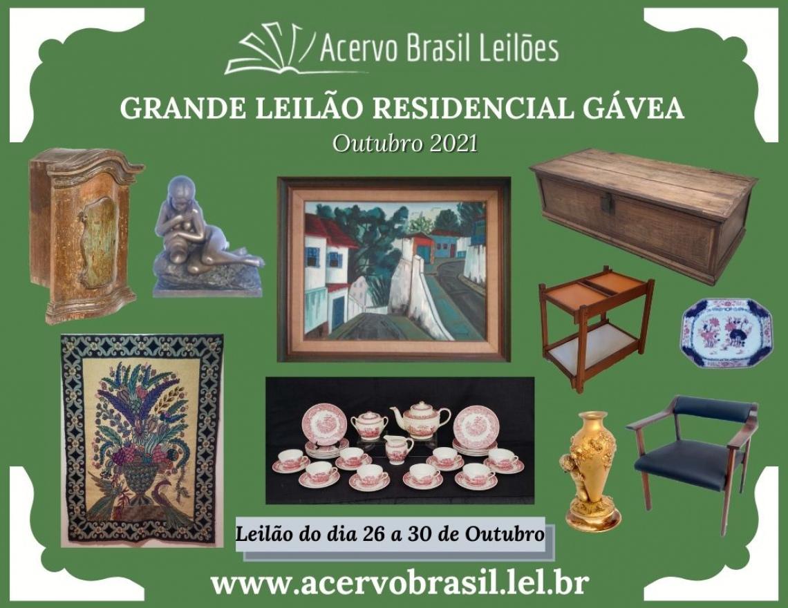 GRANDE LEILÃO RESIDENCIAL GÁVEA - OUT/2021