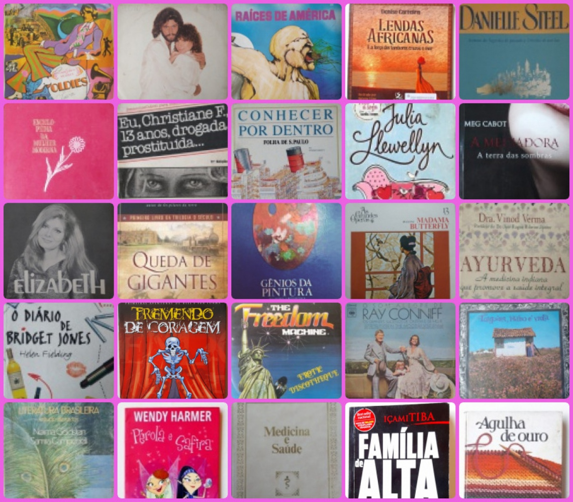 Leilão de Livros e Mídia - Dona Dila