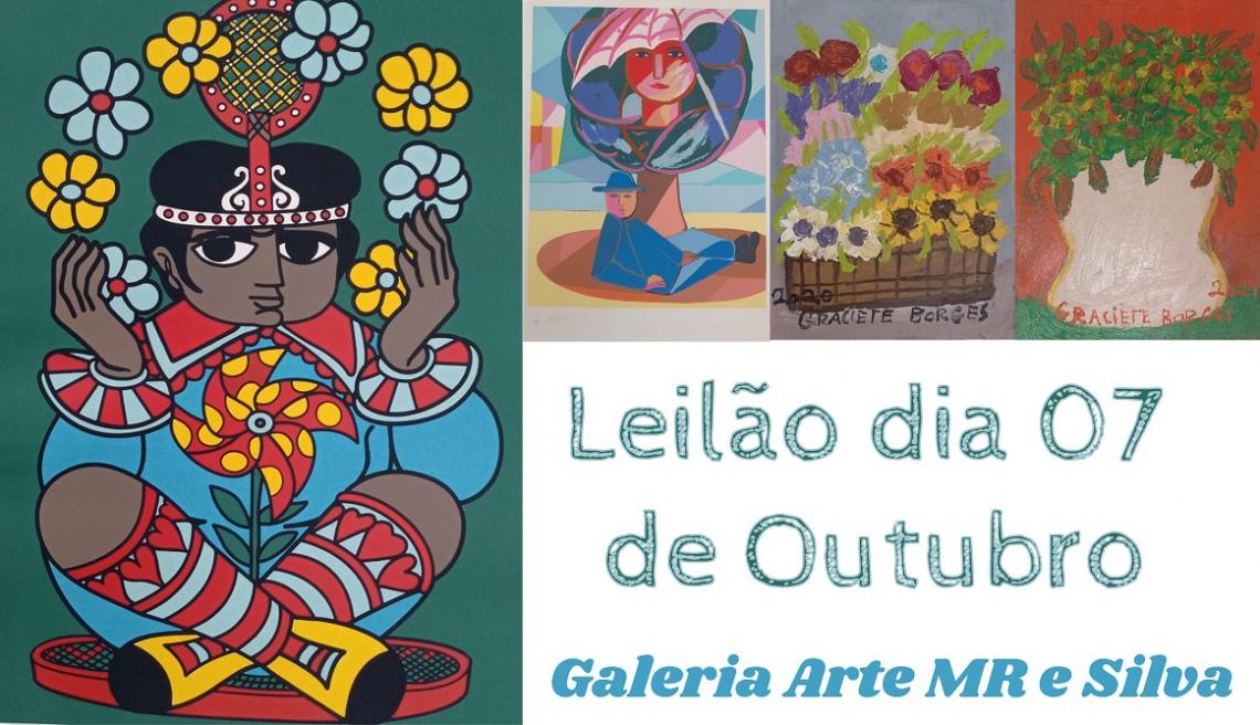 LEILÃO 23119 - GALERIA ARTE MR E SILVA