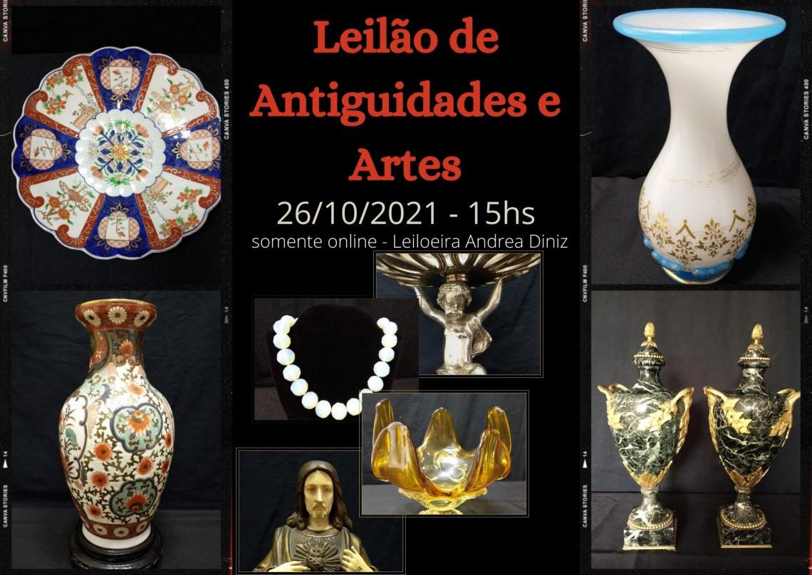 LEILÃO DE ANTIGUIDADES E ARTES