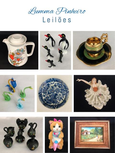 12º Leilão - Colecionismo, Porcelanas, Informática, Som, Utilitários, Brinquedos, etc.