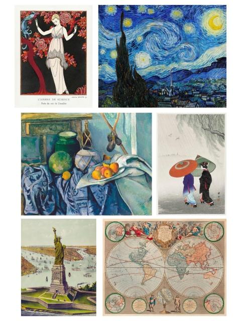 11º Leilão AG Bueno Coleções - Reproduções Vintage Art V