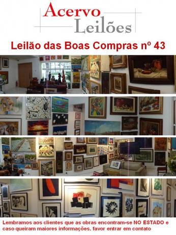 LEILÃO DAS BOAS COMPRAS nº 43 - 1º de Junho de 2015
