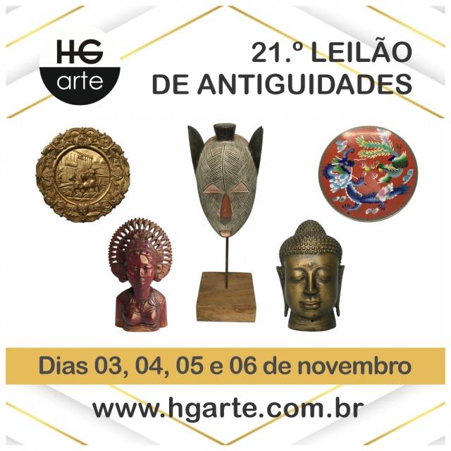HG ARTE - 21.º LEILÃO DE ARTE E ANTIGUIDADES