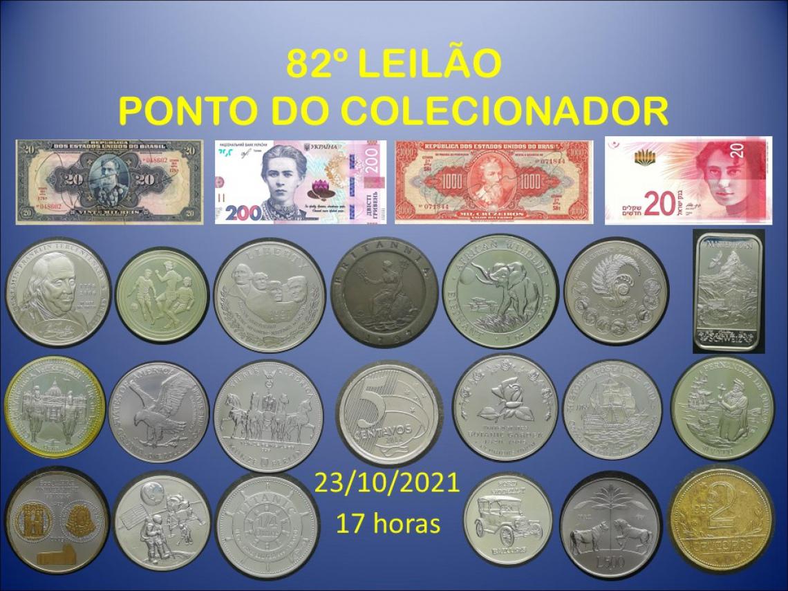 82º LEILÃO PONTO DO COLECIONADOR