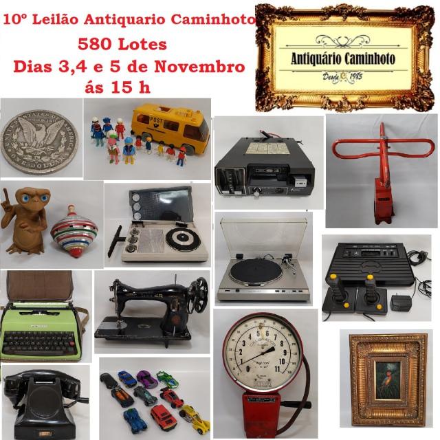 10º LEILÃO ANTIQUÁRIO CAMINHOTO