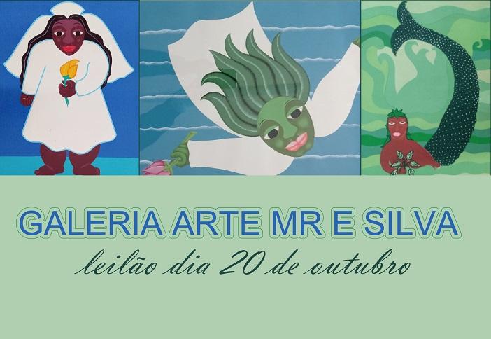 LEILÃO 23295 - GALERIA ARTE MR E SILVA