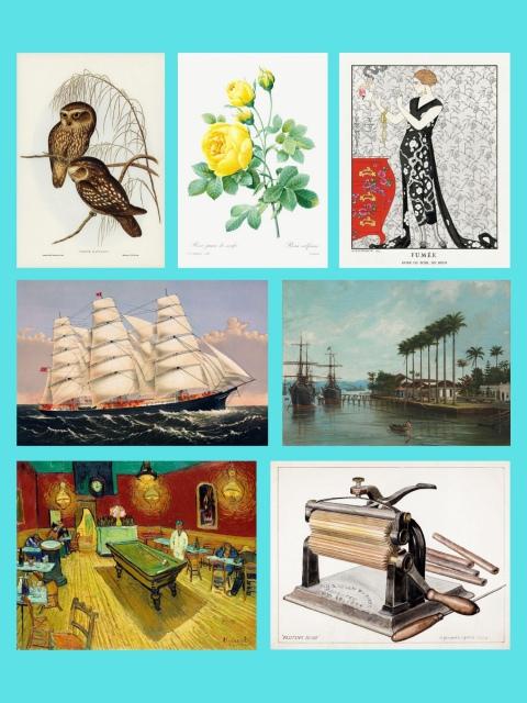 12º Leilão AG Bueno Coleções - Reproduções Vintage Art VI