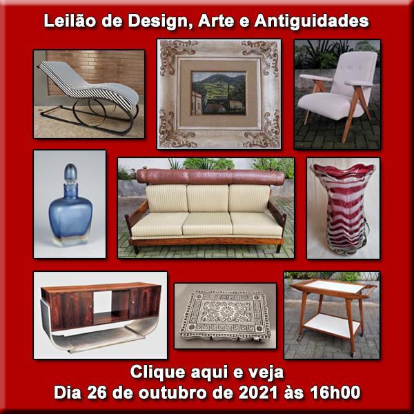 Leilão de Design, Arte e Antiguidades - 26/10/2021 às 16h00