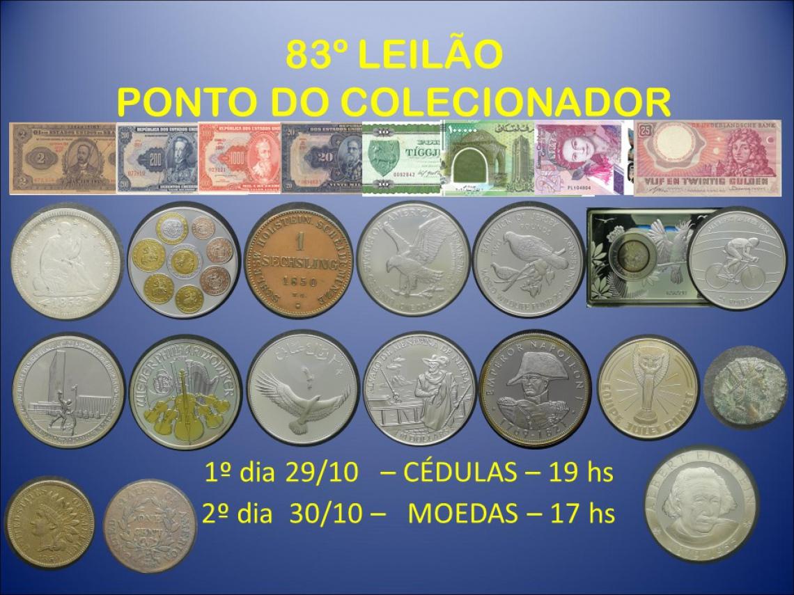 83º LEILÃO PONTO DO COLECIONADOR