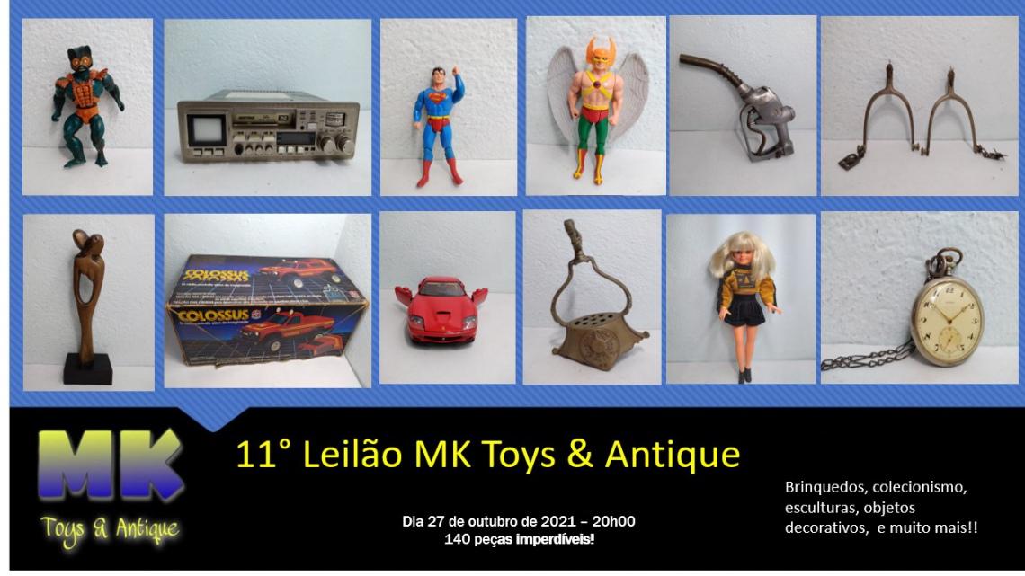 11º Leilão MK Toys & Antique