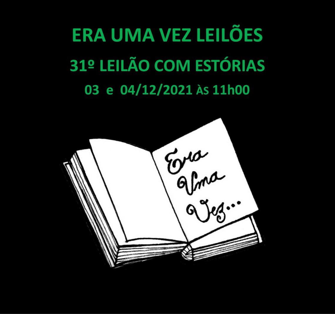 30º LEILÃO COM ESTÓRIAS - 12 e 13/11/2021 às 16h00