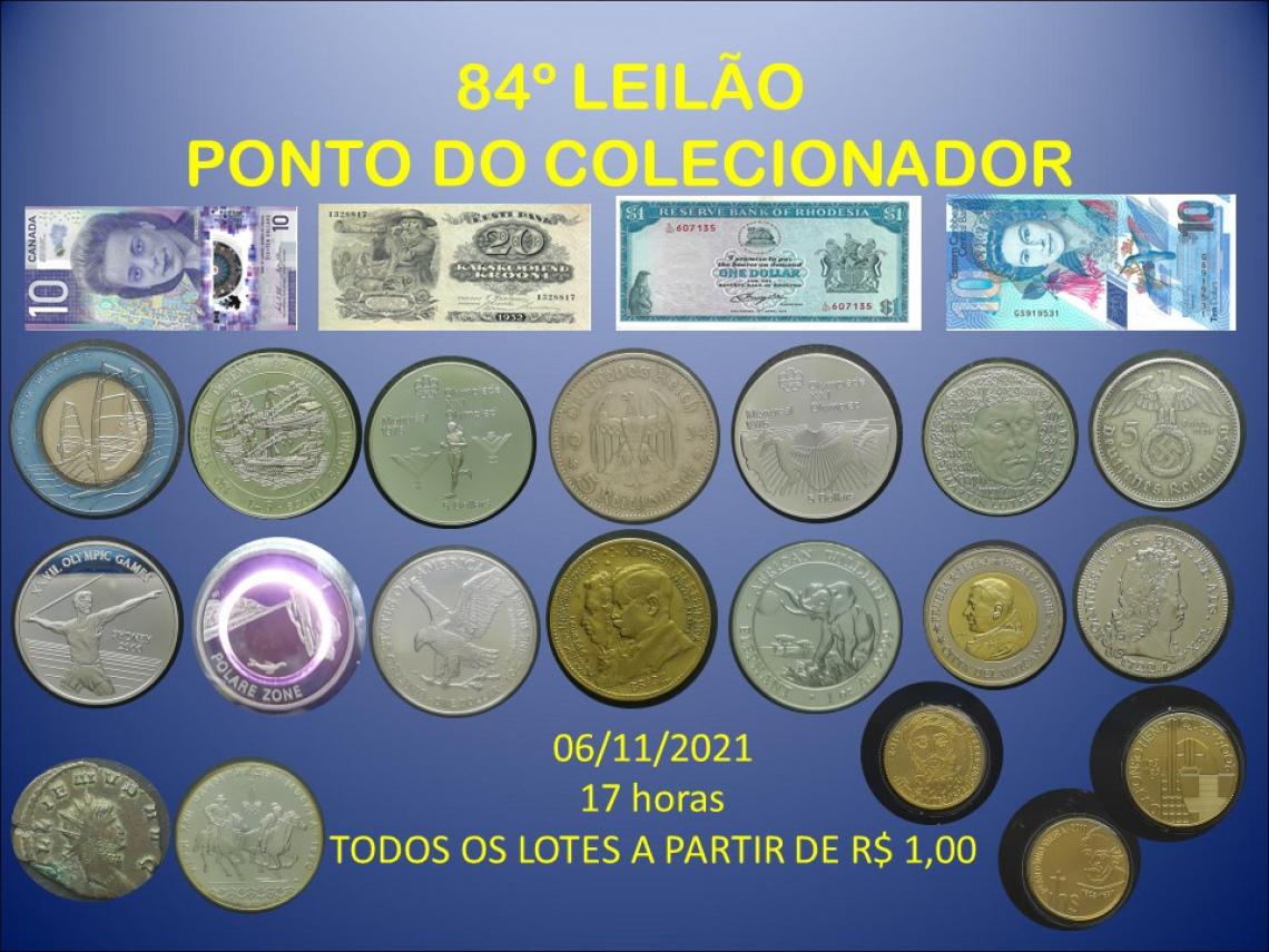 84º LEILÃO PONTO DO COLECIONADOR