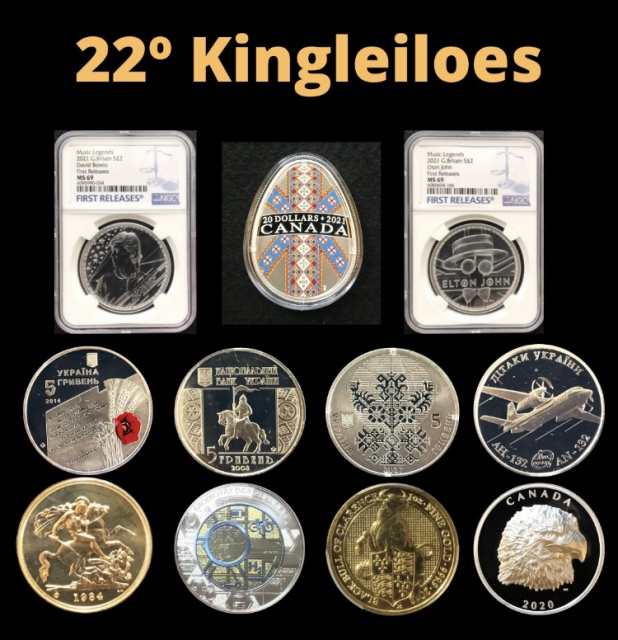 22º LEILÃO KING LEILÕES DE NUMISMÁTICA, MULTICOLECIONISMO E ANTIGUIDADES