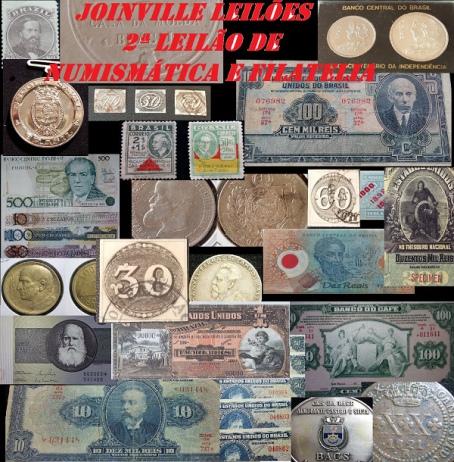 2ª Leilão de Numismática e Filatelia de Joinville