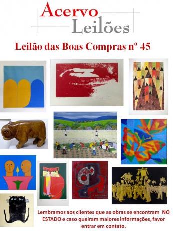 LEILÃO DAS BOAS COMPRAS nº 45 - 20 de agosto de 2015