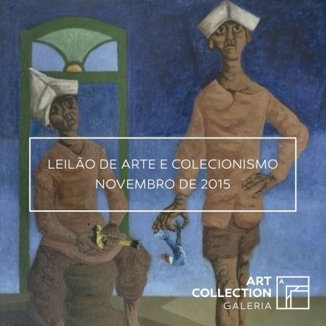 LEILÃO DE ARTE E COLECIONISMO